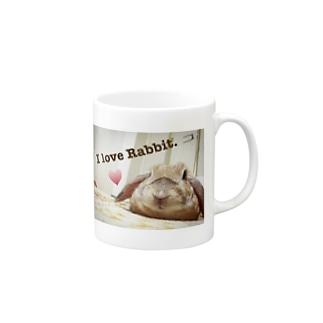 I love Rabbit. Mugs