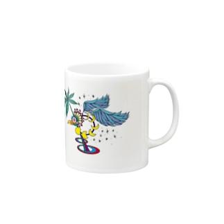 stargazer bird Mugs