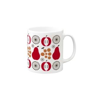 昭和の台所マグ  [その壱](赤) Mugs