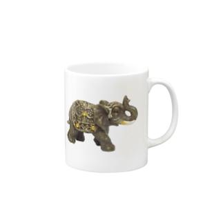 小象像 Mugs