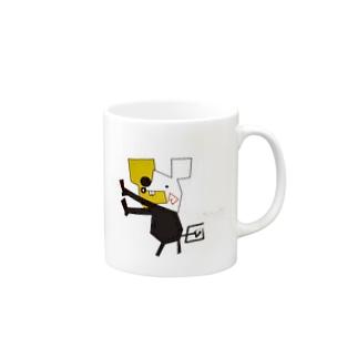onigiri330のちょいまちネズミ Mugs
