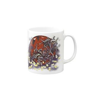 ○による恐怖の可能性 Mugs