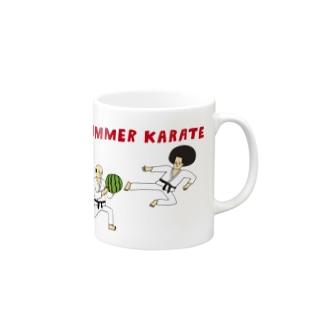 サマー空手 Mugs