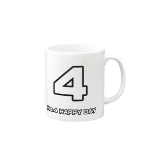 No.4 Mug