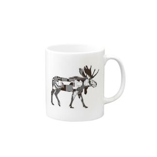 ヘラジカ Mugs
