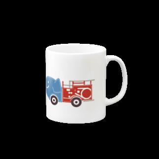 rokugatsunoumiのゾウの消防車 Mugs