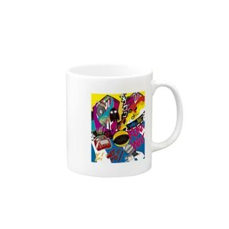 風鈴屋のパックリピスターチオ Mugs