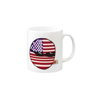 USAあめりかボール(アメリカボール)  Mugs