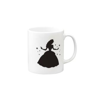 プリンセス/シルエット Mugs