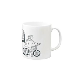 配達人 Mugs