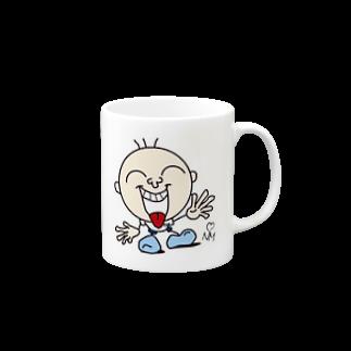 洋食ニューマインドのMr.Toy【HAPPY】 Mugs