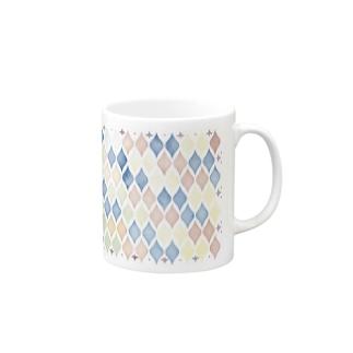 水彩モロッカンタイル風 Mug
