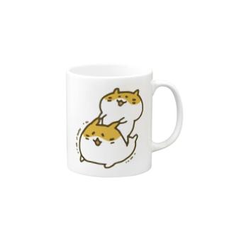 むにむにハムスター(カラー) Mugs