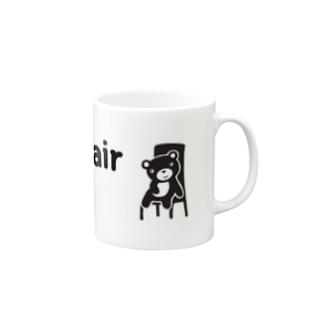 Good chair for you (ライン) Mugs