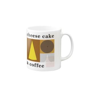 チーズケーキとコーヒー Mugs