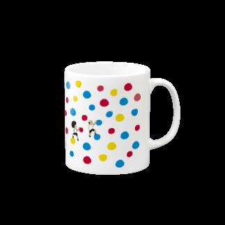 花くまゆうさくのボルダリング Mugs