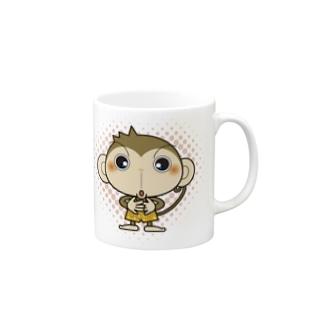 三つ子の子猿★ぱんじー★ Mugs