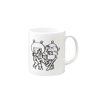 宇宙人パピプペポ Mugs