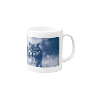 ウルフカット Mugs
