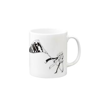 よく風の吹く Mugs