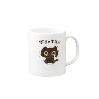 Black TANTAN マグカップ