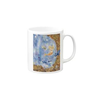 宇宙水族館 Mugs