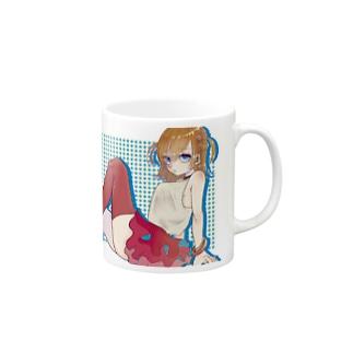 大人になりたくない女の子 Mugs