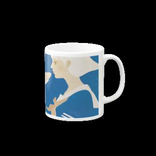 イラストレーター さかたようこの彼女はサメが好き eye Trimming Mugs
