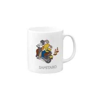 サミ太郎とバイタクTシャツ Mugs