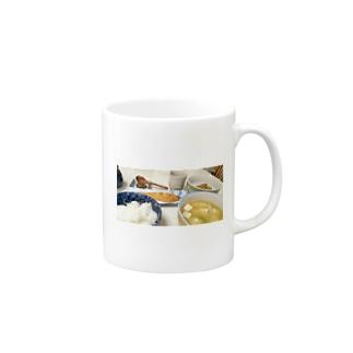 朝ごはん Mugs