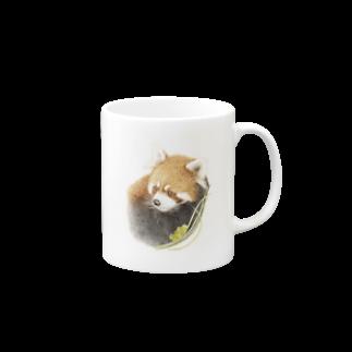 rokoのレッサーパンダA Mugs