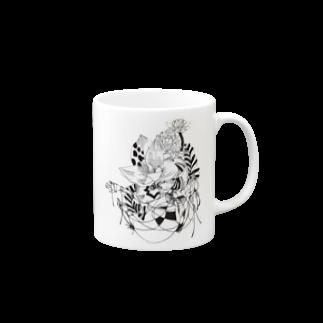 Chig-Hugのhazuki / hitotose Mugs