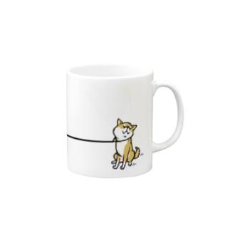 イヤイヤ柴犬(赤柴) Mugs