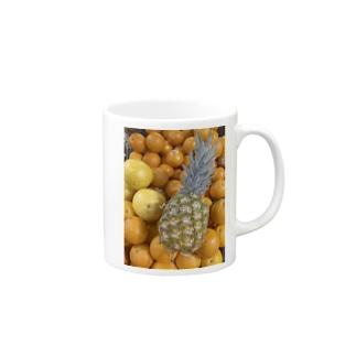 トロピカルフルーツ Mugs