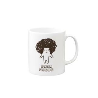 OZA_WORLDのロゴ Mugs