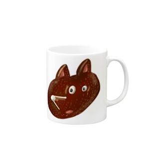 HEY BEAR FACE Mugs