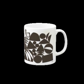 〈サチコヤマサキ〉ショップのフルーツのなる場所1 Mugs