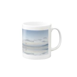 a Quiet Sea Mugs