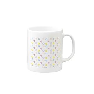 〇△□☆P Mugs