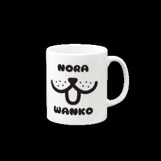 mojimojiのNORA_WANKO Mugs
