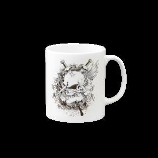 IZANAGIのドクロ~~ Mugs