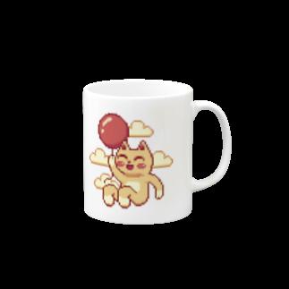 notteの浮遊するネコ Mugs