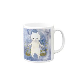 てんびん座のネコ Mugs