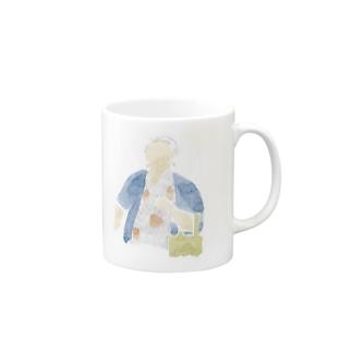 おばさん マグカップ