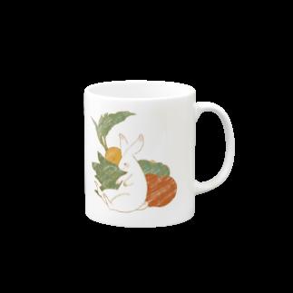peaches-momokoの野菜うさぎちゃん Mugs