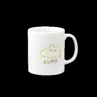 佐倉涼のKUMA(Yellow Ver.) Mugs