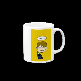 りおたのりおた真顔 Mugs