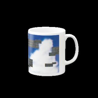 Nu_515_grのバグ入道雲 Mugs