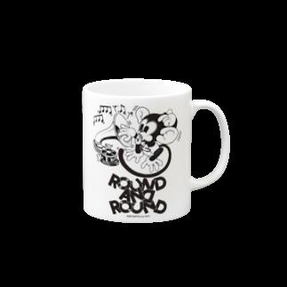 Booty the baby baboonのROUND AND ROUND BOOTY Mugs