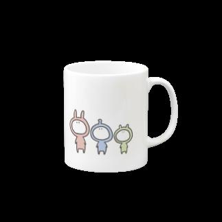 なつぽむ。の謎の3人組 Mugs
